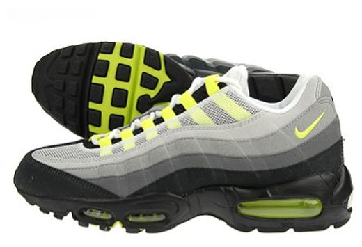 Nike Air Max 95 Black Grey Green
