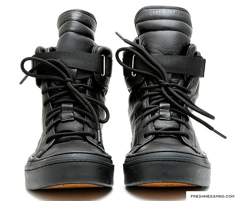 The Fall, Diesel is trying to re-introduce its footwear collection to ...
