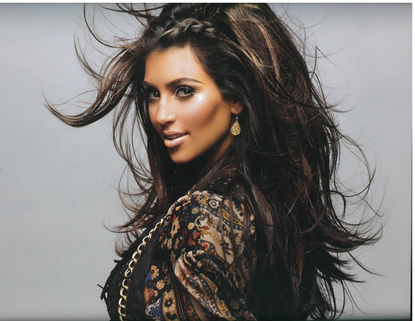 Kim Kardashian cover of Vegas. 27 10 2008