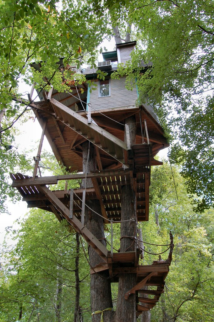 6. Minister's Treehouse (Crossville, Tennessee, USA)