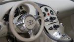inside Bugatti Veyron Bleu Centenaire