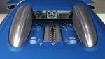 Back Bugatti Veyron Bleu Centenaire