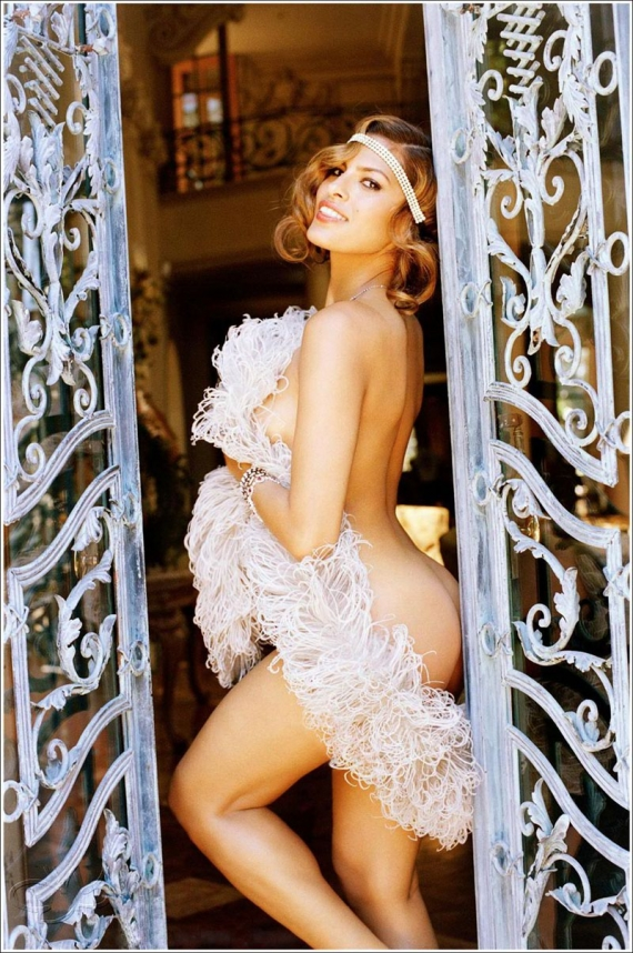Hot Eva Mendes in 15 photos from Playboy Plus by