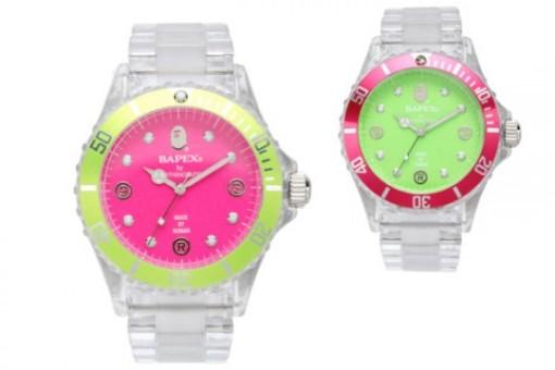 bape-bapex-clear-pink-green-front-540x360