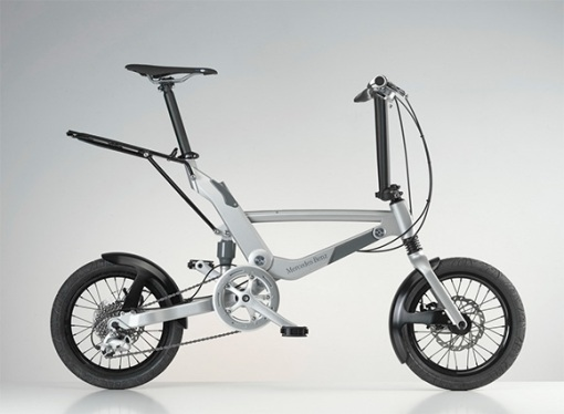 Mercedes-Benz-Folding-Pushbike