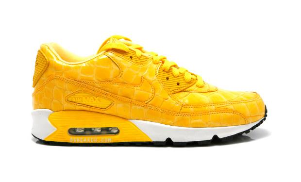 90S Air Max Yellow