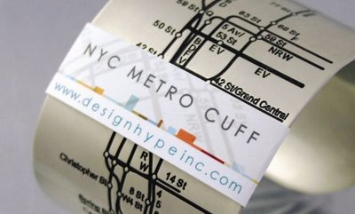 NYC Metro Cuff by Tiffany Burnette 01