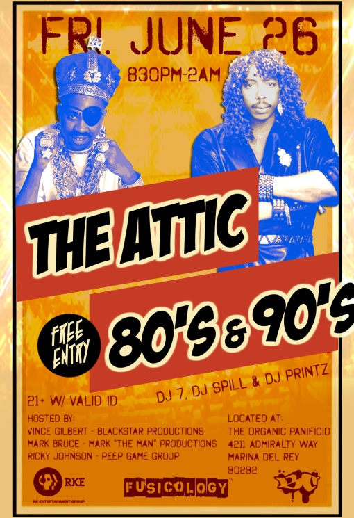 the attic flyer