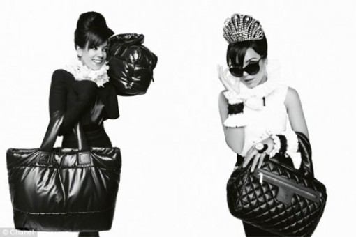 chanel-lily-allen-karl-lagerfeld-front-540x360