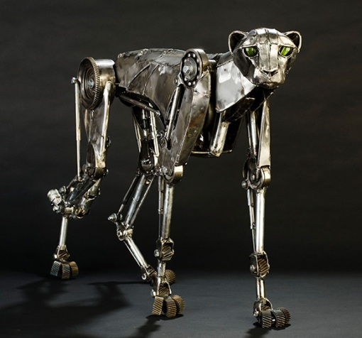 Steampunk-Mechanical-Cheetah-2
