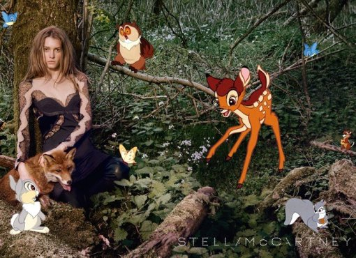 Stella McCartney + Disney for the Fall Winter Campaign 01