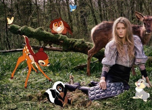 Stella McCartney + Disney for the Fall Winter Campaign 02